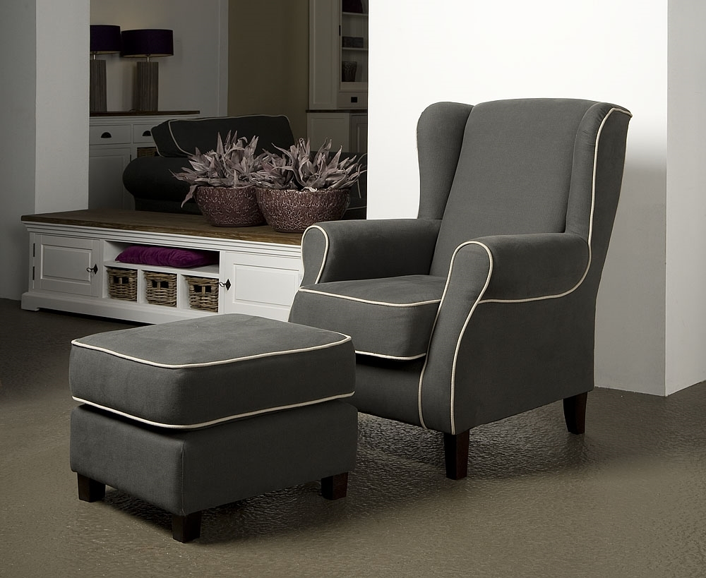 urbansofa sf palermo fauteuil en hocker stoel oor fauteuil poef geels meubelen. Black Bedroom Furniture Sets. Home Design Ideas