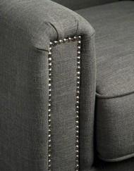 UrbanSofa Arese fauteuil leuning met nagels